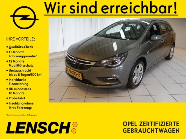 Opel Astra K ST 1.4 120 Jahre NAVI+SITZHZG+ALLWETTER, Jahr 2019, Benzin