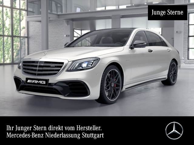 Mercedes-Benz S 63 AMG L 4Matic Sportpaket Bluetooth Navi LED, Jahr 2017, Benzin