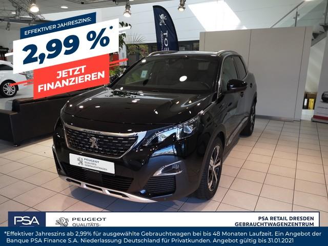 Peugeot 3008 PureTech 180 EAT8 GT-Line/ Navi/ Glasdach/ SHZ, Jahr 2019, Benzin
