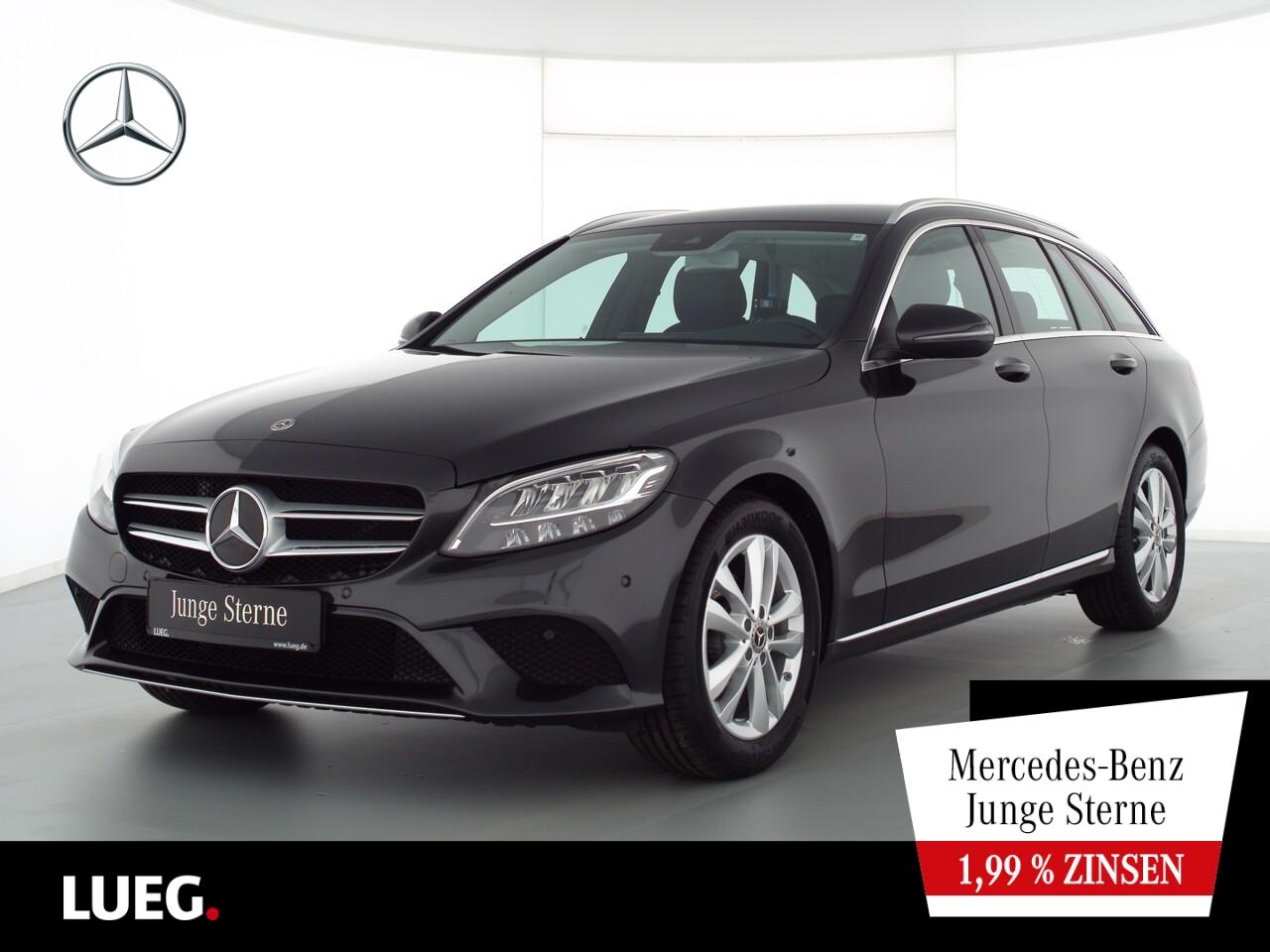 Mercedes-Benz C 180 T Avantgarde+Navi+LED-HP+Sthzg+CarP+Kamera, Jahr 2020, Benzin