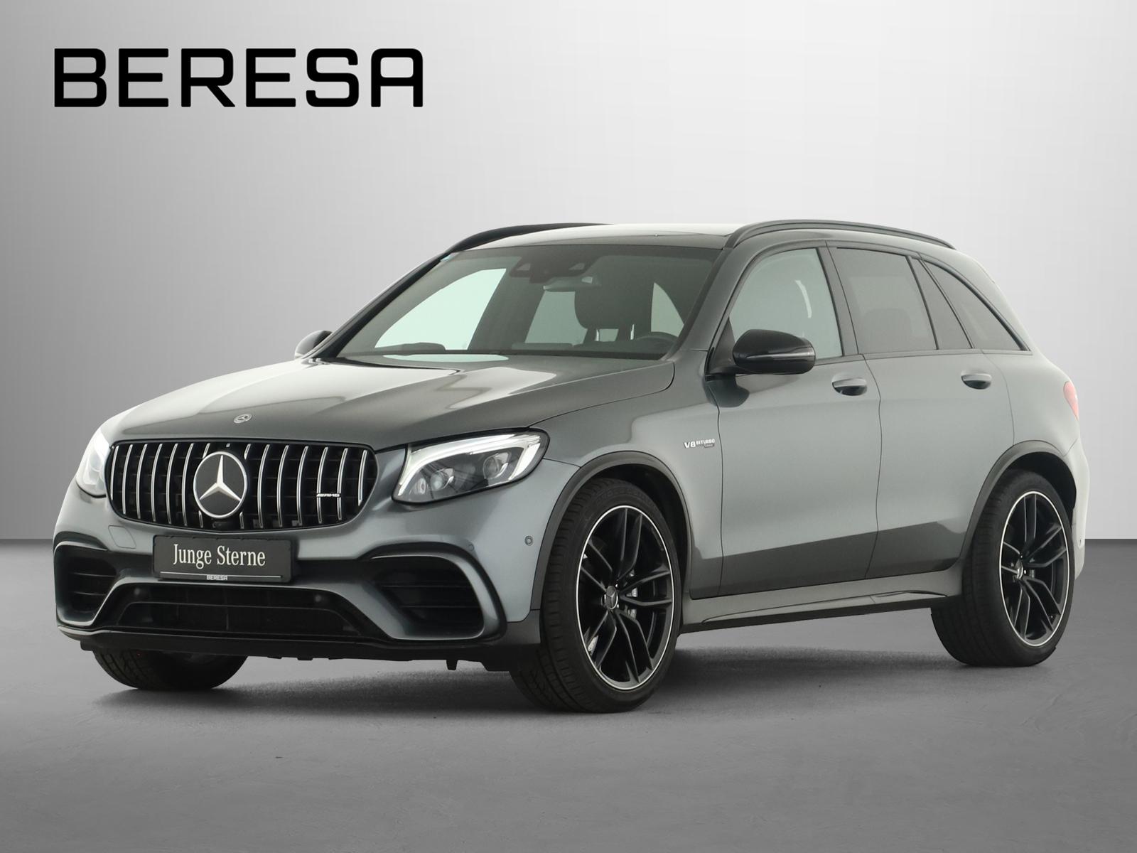 Mercedes-Benz GLC 63 AMG 4M+ Night Perf. AbGas Pano. Distronic, Jahr 2018, Benzin