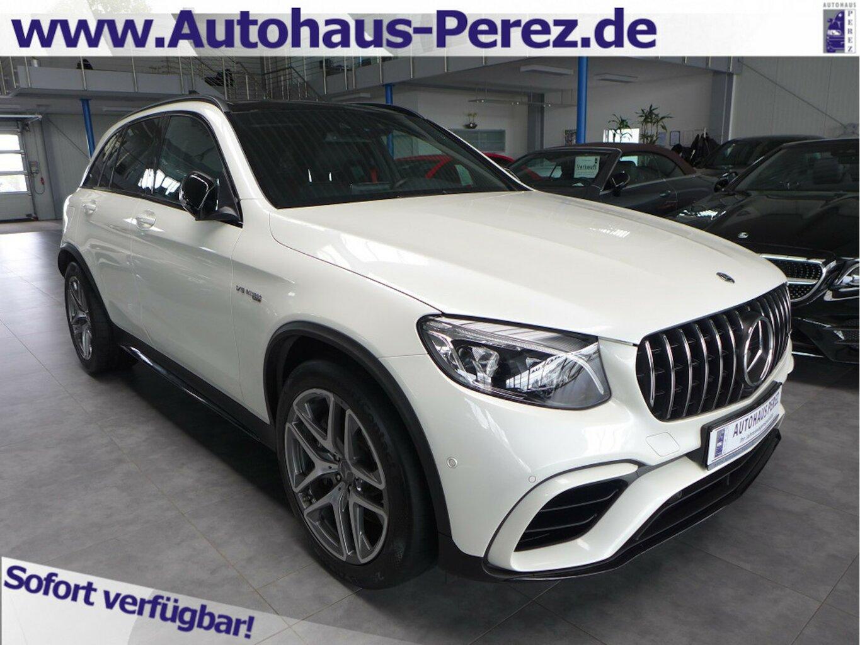 Mercedes-Benz GLC 63 AMG 4M+ Night COMAND-DISTRONIC-AHK-MEMORY, Jahr 2018, Benzin