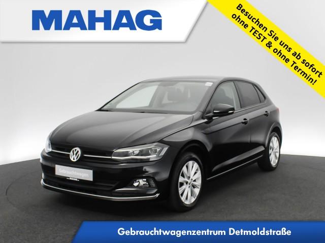 Volkswagen Polo HIGHLINE 1.0 TSI Navi LED Bluetooth 16Zoll 6-Gang, Jahr 2018, Benzin