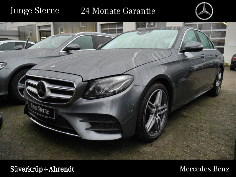 Mercedes-Benz E 450 4M AMG Line Distronic Widescreen Panorama, Jahr 2019, petrol