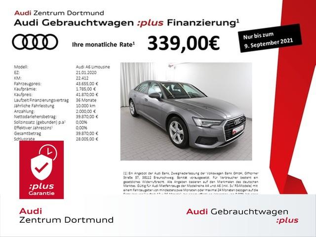 Audi A6 40TDI Matrix/ACC/Pano/AHK/KAM, Jahr 2020, Diesel