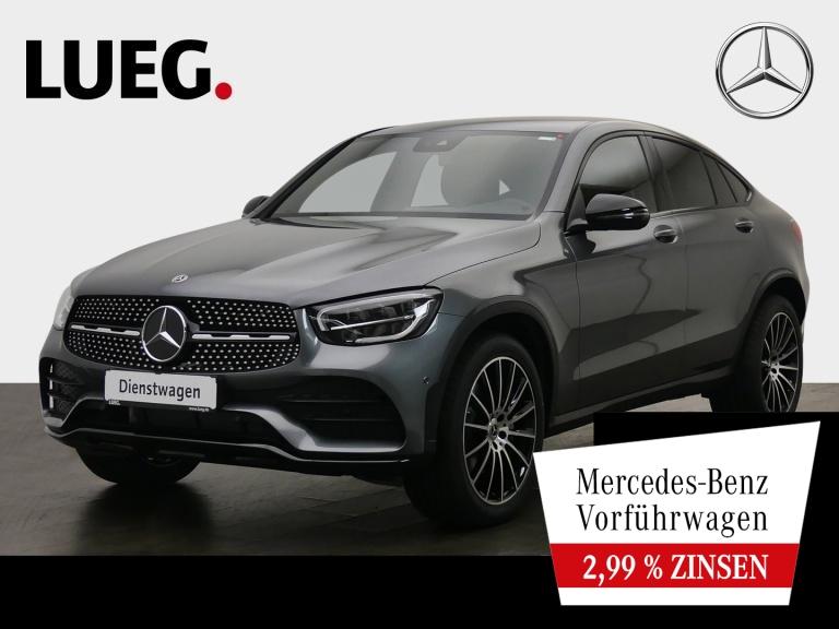 Mercedes-Benz GLC 300 d 4M Coupé AMG+20''+STANDHZ+AHK+TOTW+KAM, Jahr 2020, Diesel