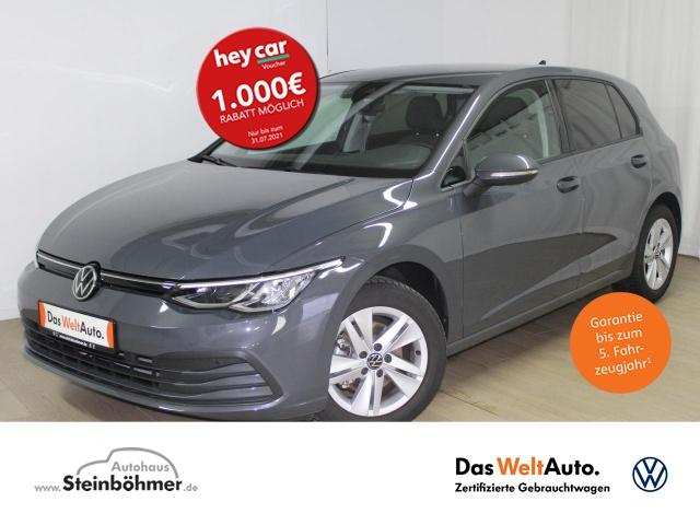 Volkswagen Golf Life 1.5TSI Navi Pro LED DAB Sitzhz ACC MFL, Jahr 2020, Benzin
