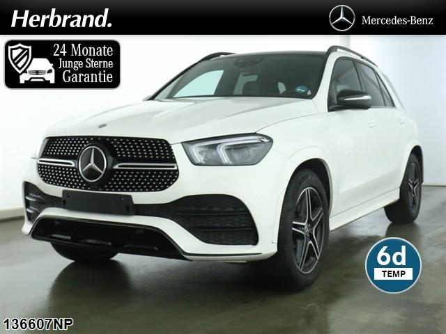 "Mercedes-Benz GLE 450 4M AMG Line Night Pano 20"" LM Multibeam, Jahr 2020, petrol"