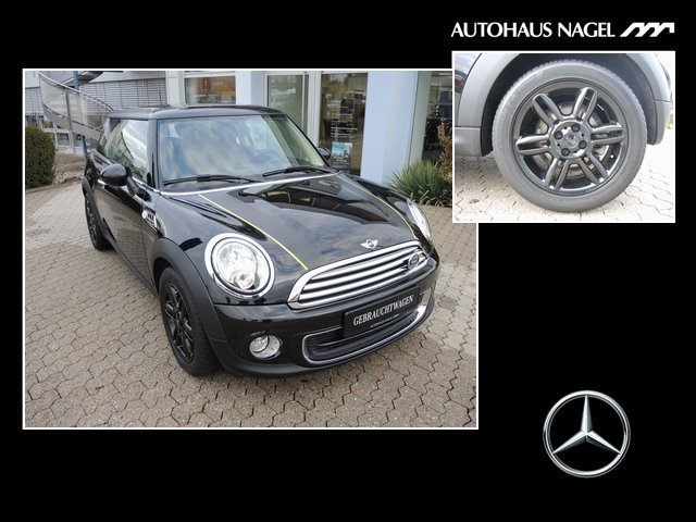 MINI One 1.6 Salt*Klimaautomatic+PDC+Chrome-Line+SHZ+, Jahr 2014, Benzin