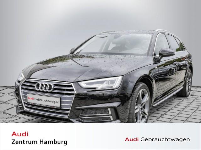 Audi A4 Avant 2.0 TDI sport 6-Gang S LINE AHK NAVI-PLUS, Jahr 2017, Diesel