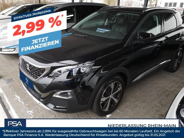 Peugeot 3008 BlueHDi 180 EAT8 Allure *LEDER*GSD*AHK*ACC*, Jahr 2018, Diesel