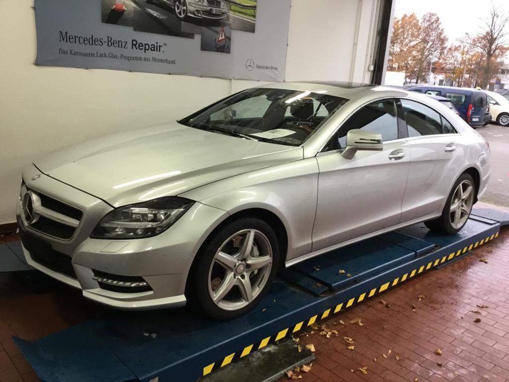 Mercedes-Benz CLS 500 AMG Distronic Nachtsicht Kamera SHD LED, Jahr 2012, petrol