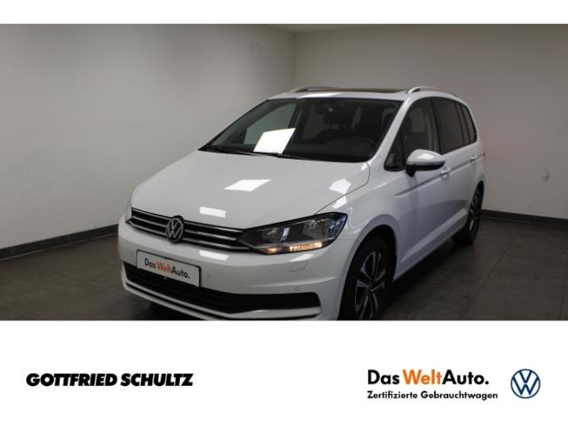 Volkswagen Touran United TDI 7Sitzer *Pano*Navi*AHK*SHZ*PDC*, Jahr 2021, Diesel