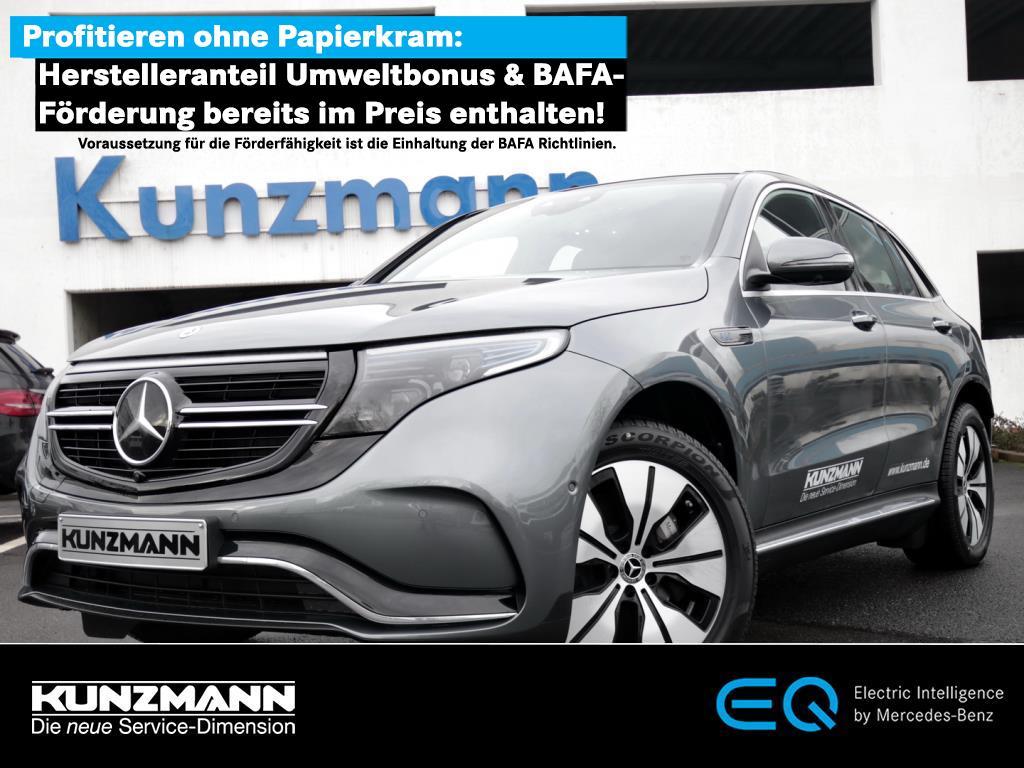 Mercedes-Benz EQC 400 4MATIC AMG MBUX Navi LED 360° Distronic, Jahr 2021, Elektro