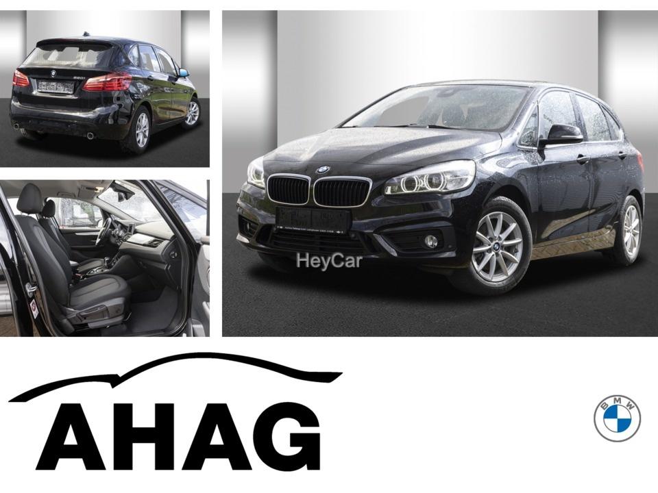 BMW 220 Active Tourer Advantage Aut. Klimaaut. AHK, Jahr 2015, Benzin
