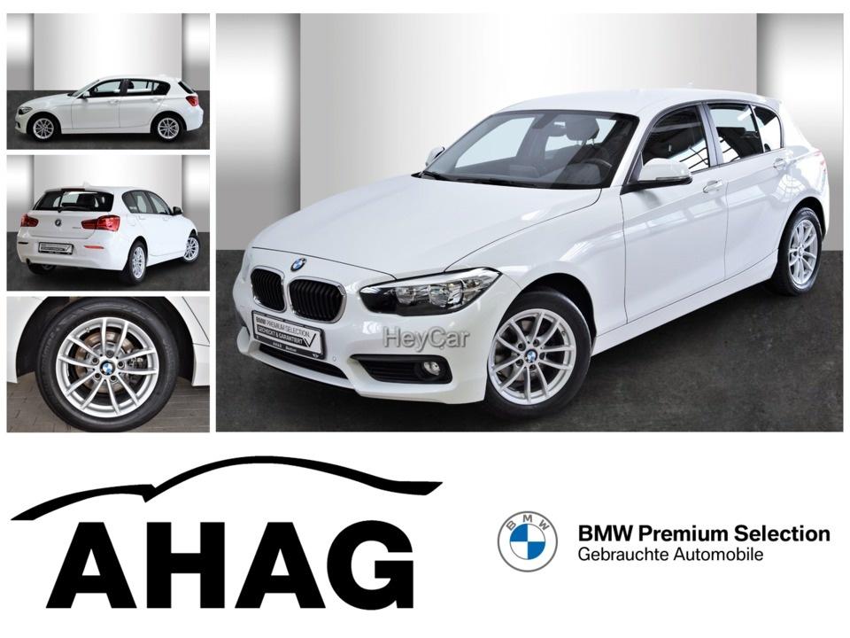BMW 116d Advantage Navi Business PDC LM Durchlade, Jahr 2017, Diesel