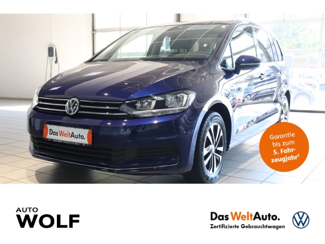 Volkswagen Touran United 1.5 TSI Start-Stopp EU6d-T Navi StandHZG Fernlichtass. PDCv+h Multif.Lenkrad, Jahr 2020, Benzin