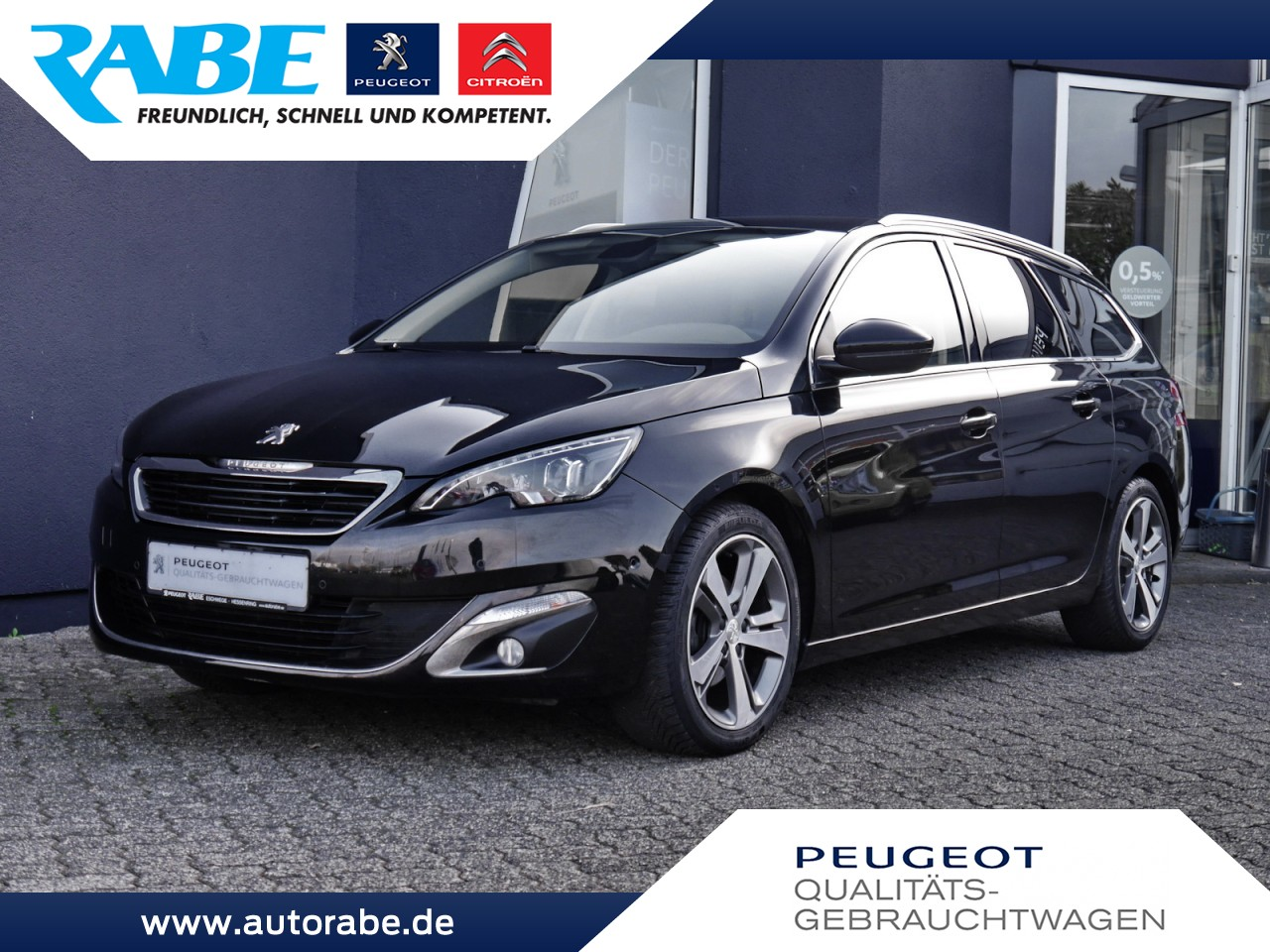 Peugeot 308 SW Allure 115 eHDi ParkAssist+Pano+Totwinkel, Jahr 2014, Diesel