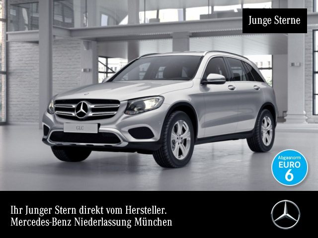 Mercedes-Benz GLC 250 4M Exclusive Kamera Navi Totwinkel PTS 9G, Jahr 2016, Benzin