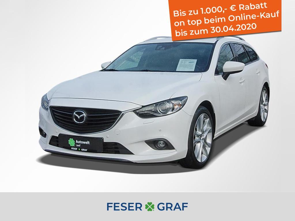 Mazda 6 2.2 CD Sports-Line - NAVI,XENON,PDC,SHZ,Bluet., Jahr 2014, Diesel