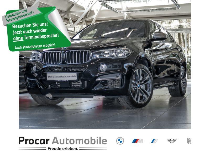 BMW X6 M50d 20 +Glasdach+HeadUp+AHK+Ad.LED+DAB+TOP!!, Jahr 2018, Diesel