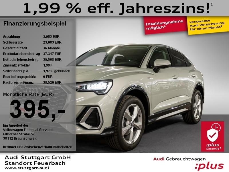 Audi Q3 Sportback S line 35 TFSI S tronic, Jahr 2020, Benzin