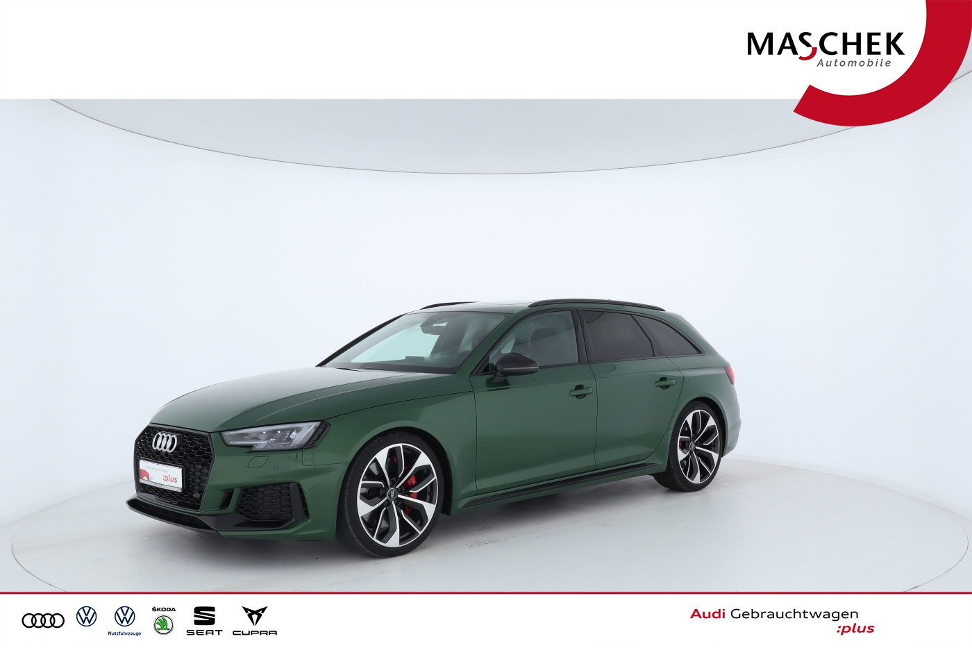 Audi RS 4 Avant RSAGA Matrix VC Pano Leder BlackEditi, Jahr 2017, Benzin