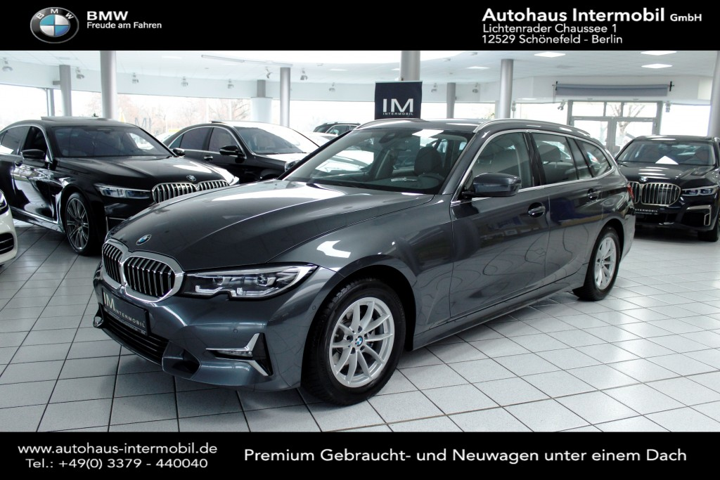 BMW 320 d Luxury Line*Live Cockpit*Leder*LED*Kamera*, Jahr 2019, Diesel