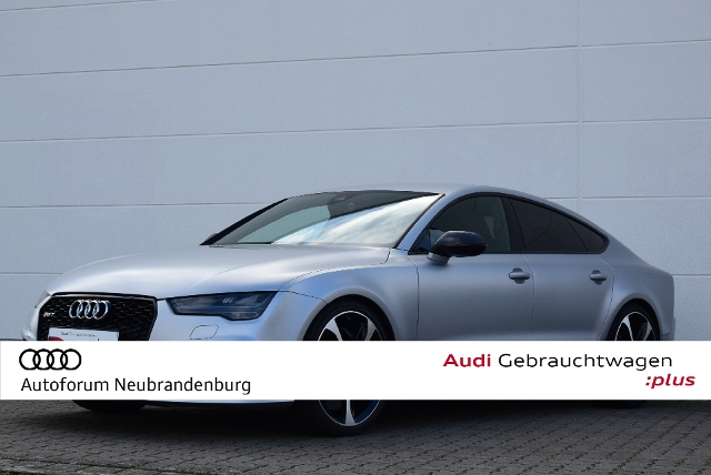 Audi RS 7 Sportback quattro 4.0TFSI-560PS-Autom.-Matr, Jahr 2015, Benzin