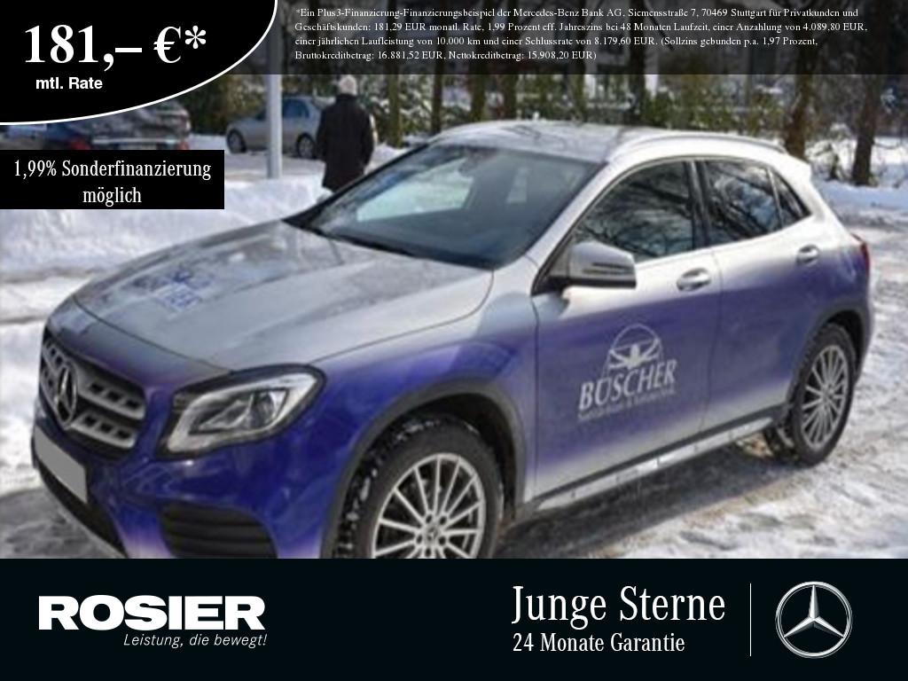 Mercedes-Benz GLA 180 AMG Line PEAK Navi LED Kamera SHZ PTS L, Jahr 2017, Benzin