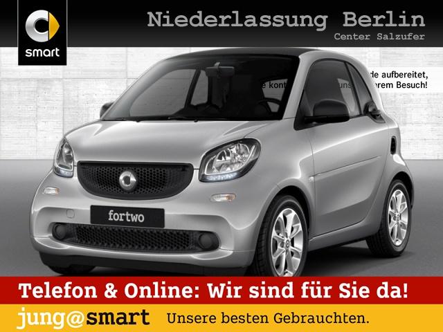 smart fortwo coupé 52kW passion DCT cool&Media Komfort, Jahr 2017, Benzin