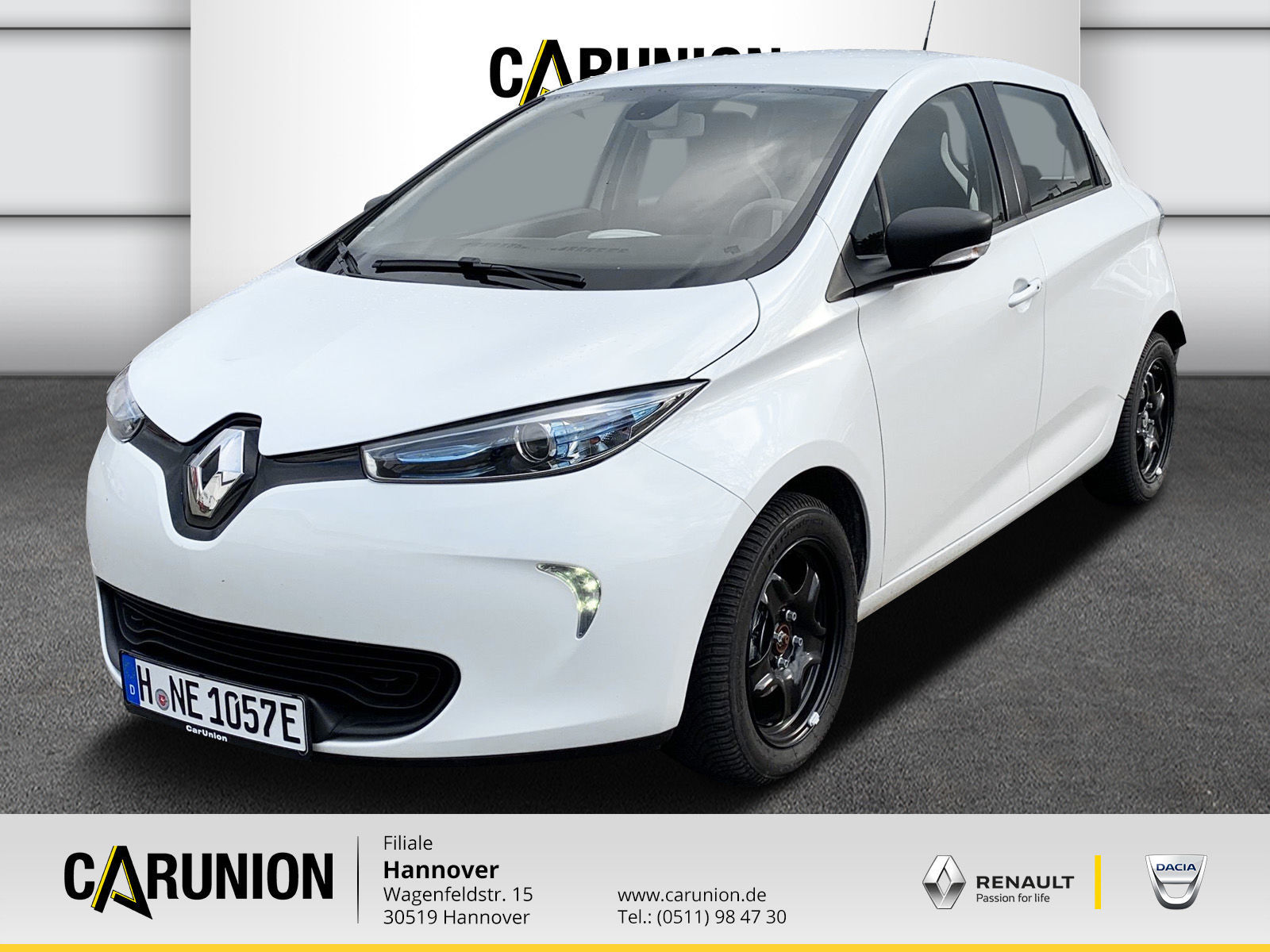Renault ZOE LIFE Batteriemiete Option auf Z.E. 40 Paket, Jahr 2019, Elektro