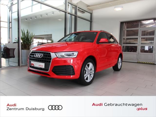 Audi Q3 2.0 TDI quattro sport S tronic Navi+ S line, Jahr 2018, Diesel