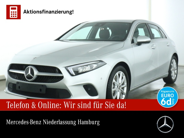 Mercedes-Benz A 220 Progressive Navi Premium LED Spurhalt-Ass, Jahr 2019, Benzin