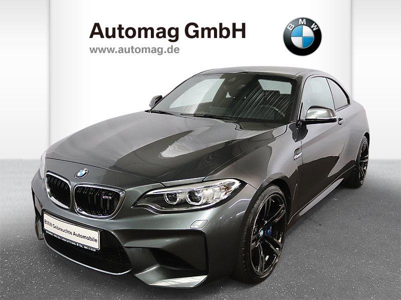 BMW M2 Coupé 1.Hd.*Scheckheft*2J.Garantie*Nav.Prof.*H/K, Jahr 2016, petrol