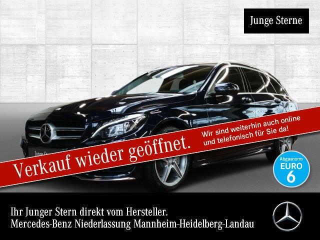 Mercedes-Benz C 400 T 4M AMG 360° Airmat Pano Distr+ COMAND HUD, Jahr 2016, Benzin