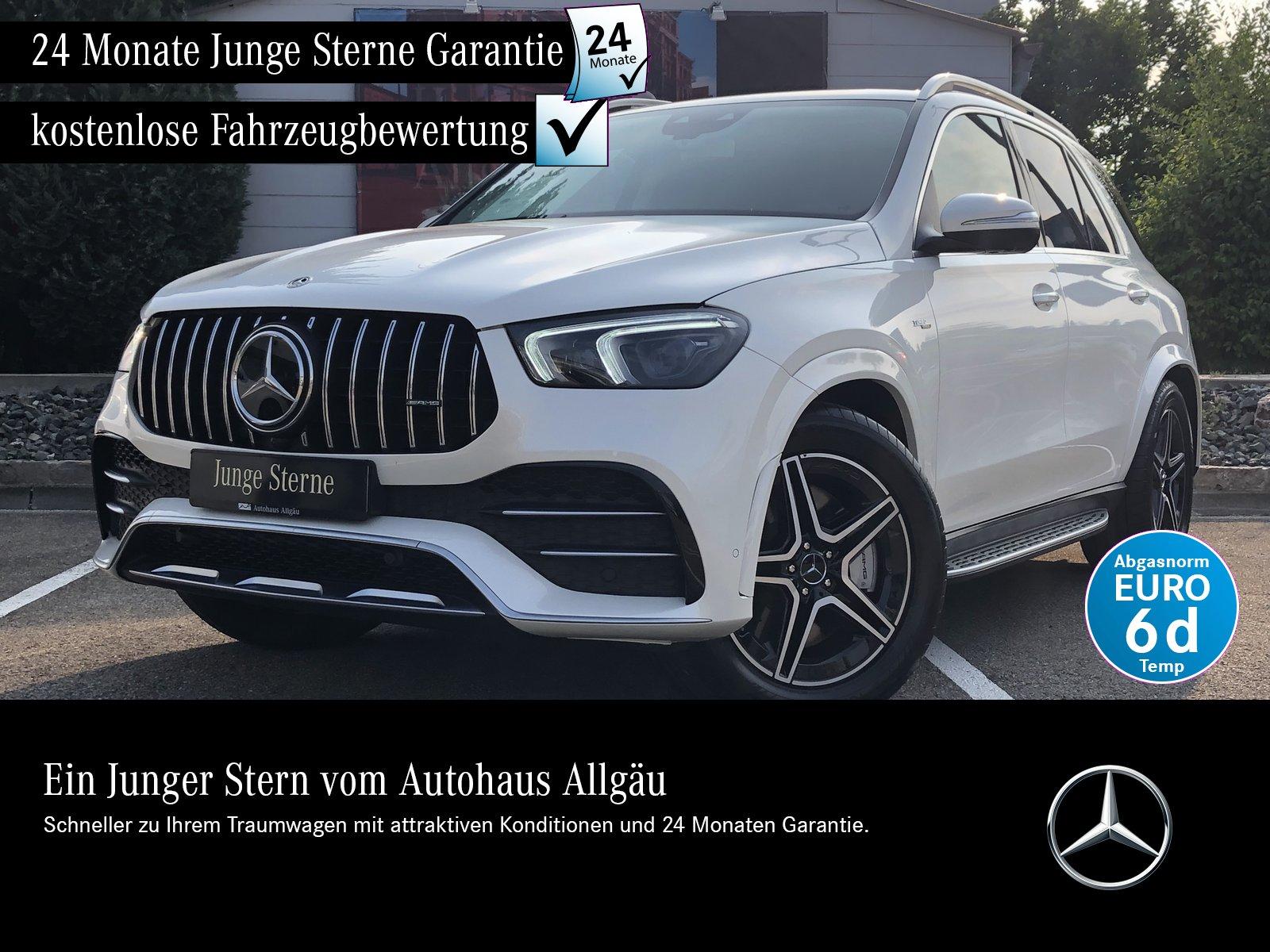 Mercedes-Benz AMG GLE 53 4M+ PERF. AGA+BURMESTER+PANO+AHK+HUD, Jahr 2020, Benzin