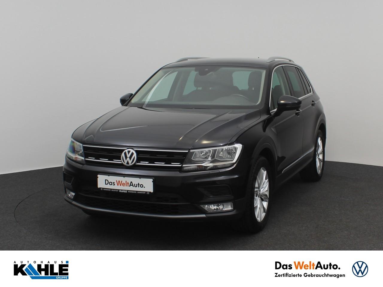 Volkswagen Tiguan 1.4 TSI BMT Comfortline Navi AHK Klima, Jahr 2017, Benzin