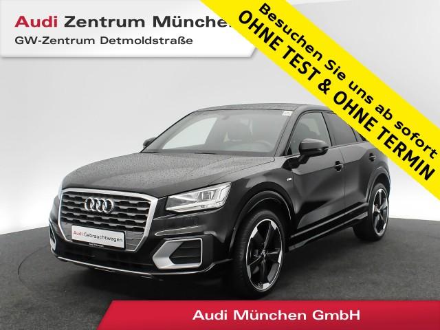 "Audi Q2 1.4 TFSI Sport S line HUD Pano LED Navi Teilleder 19"" 6-Gang, Jahr 2018, petrol"