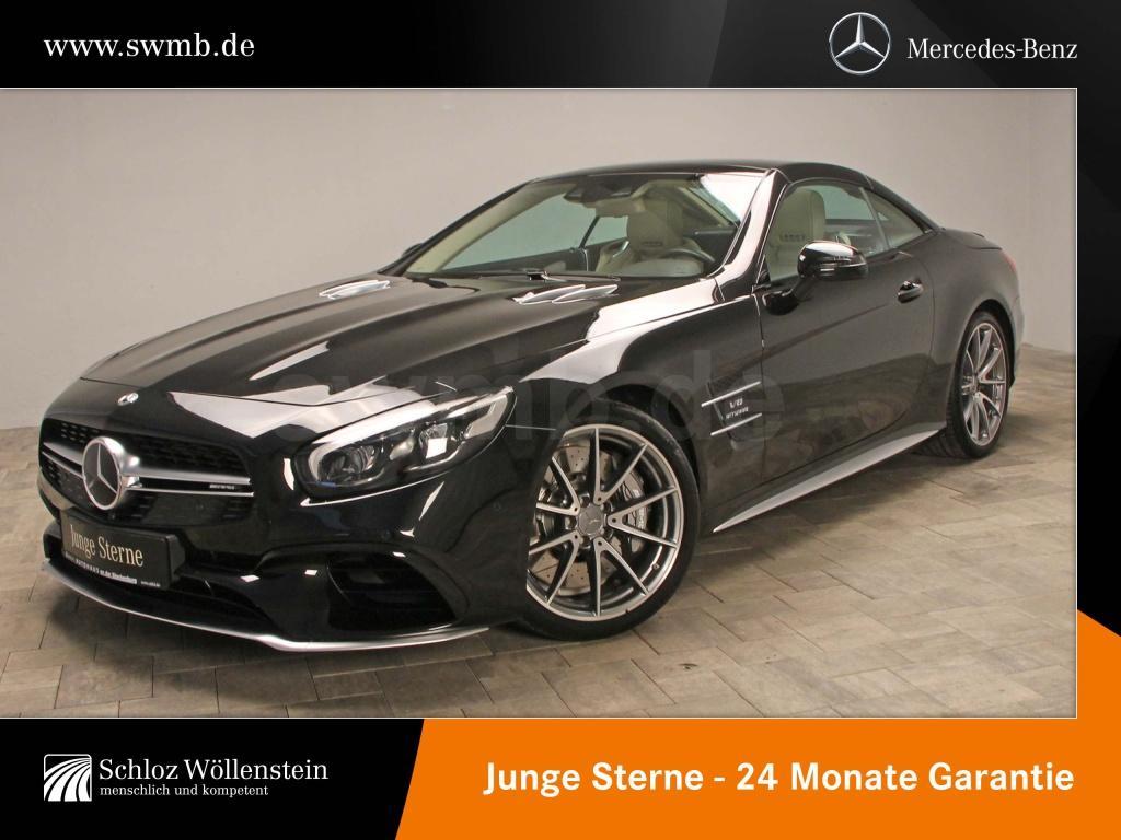 Mercedes-Benz SL 63 AMG Fahrassist/AIRSCARF/Sitzklima/Harman, Jahr 2018, Benzin