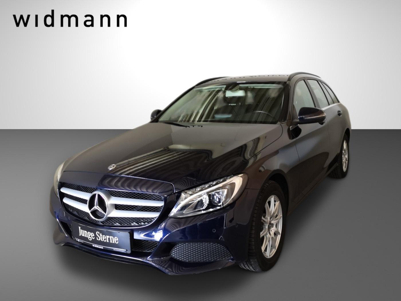 Mercedes-Benz C 200 d T *LED*AHK*Navi*Sitzheizung*9G-TRONIC*, Jahr 2018, Diesel