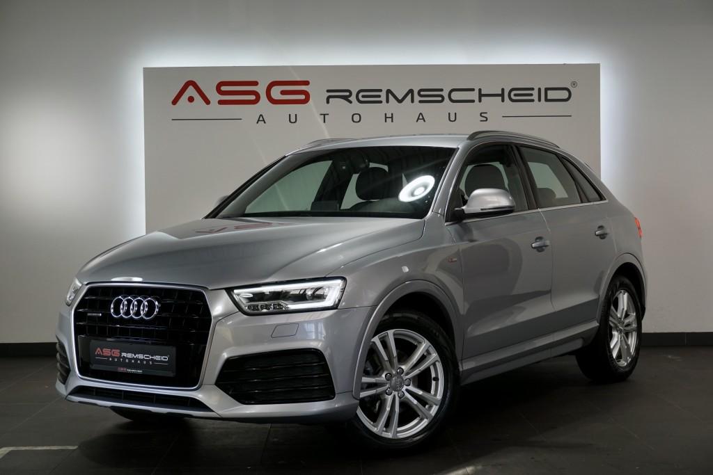 Audi Q3 2.0 TDI S-Tr. q. 2x S Line *LED *Key *Navi *, Jahr 2015, Diesel