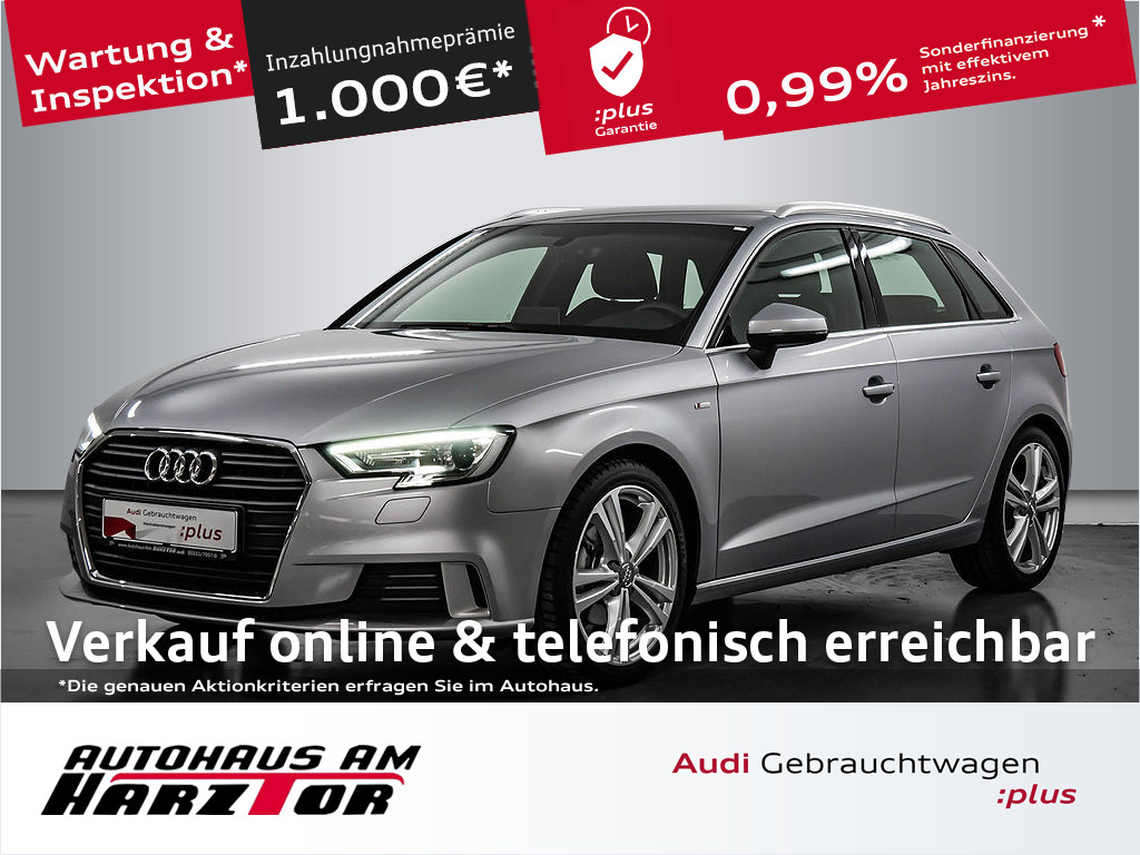 Audi A3 Sportback 30 TDI. S line Sportpaket, Jahr 2019, Diesel