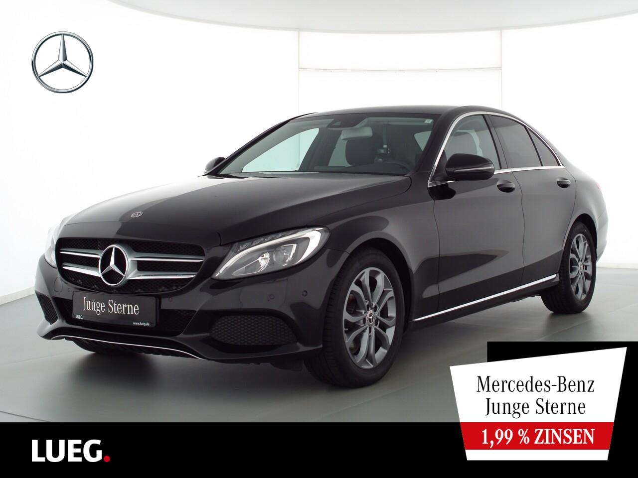 Mercedes-Benz C 180 Avantgarde+Navi+LED-HP+Totw+Lordose+Kamera, Jahr 2018, Benzin