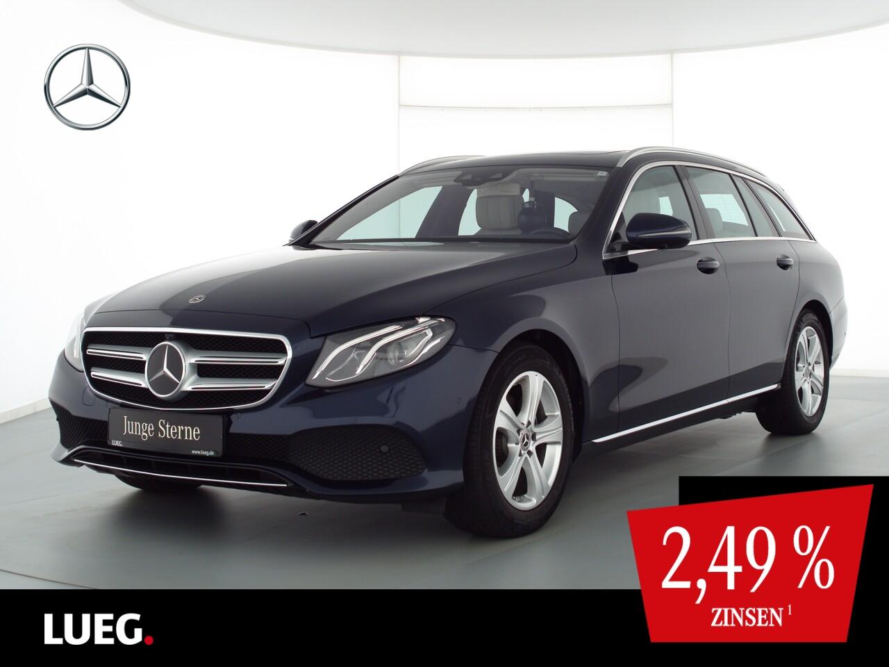 Mercedes-Benz E 220 d T Avantgarde+COM+SHD+Burm+LED+Sthzg+360°, Jahr 2017, Diesel