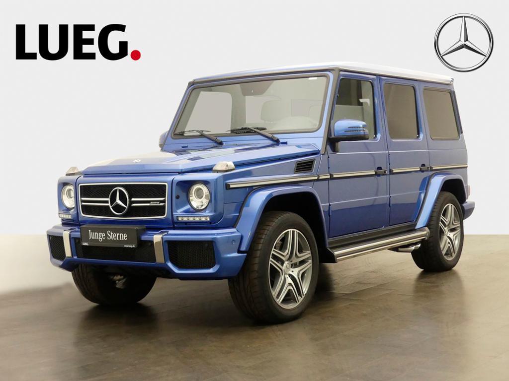 Mercedes-Benz G 63 AMG COM+HarmanKardon+AHK+DesignoExcl+Kamera, Jahr 2018, Benzin