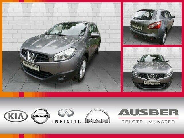 Nissan Qashqai 1.6 acenta Navi Around View Monitor, Jahr 2013, Benzin