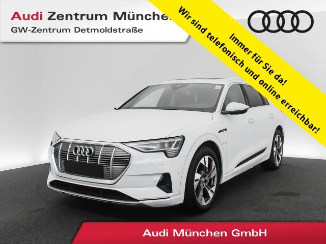 Audi e-tron 50 qu. advanced S line Assistenz Pano AHK HUD Matrix Virtual B&O Getriebe für Elektroantrieb (1-Gang), Jahr 2020, Elektro
