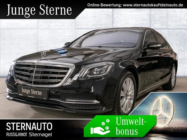 Mercedes-Benz S 450 4M Fond Enter Distro Pano Sound 4xSitzklima+, Jahr 2018, petrol