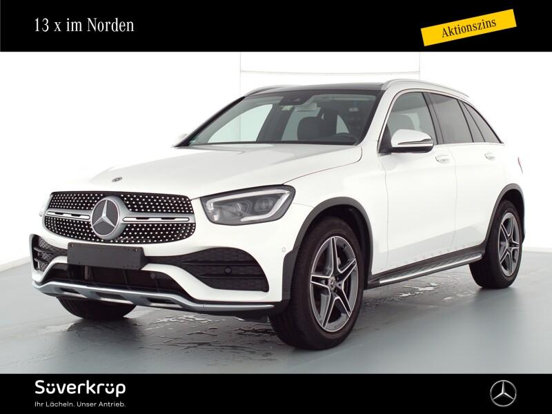 Mercedes-Benz GLC 400 d 4M AMG/Pano.-Dach/Spur-P./LED/AHK, Jahr 2020, Diesel